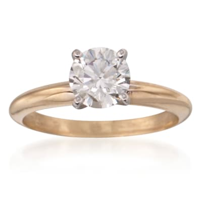 Diamond Solitaire Engagement Rings. Image Featuring Diamond Solitaire Ring
