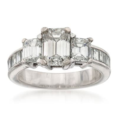 3-Stone Engagement Rings. Image Featuring 3-Stone Engagement Ring