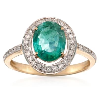 Gemstone Engagement Rings. Image Featuring Gemstone Engagement Ring