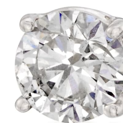 April - Diamond. Image Featuring Diamond Earrings