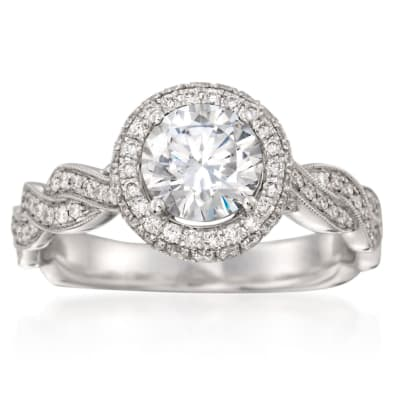 Designer Engagement Rings. Image Featuring Designer Engagement Ring