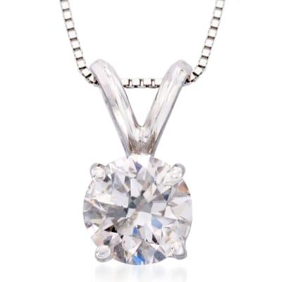 Diamond Pendants. Image Featuring a Diamond Pendant
