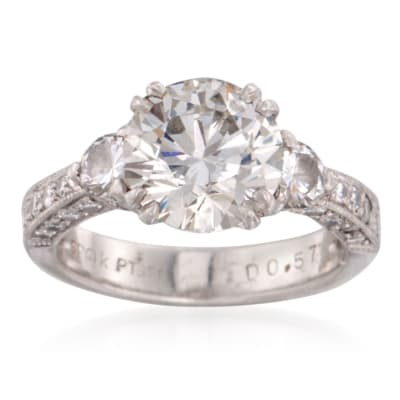 Vintage Engagement Rings. Image Featuring Vintage Engagement Ring