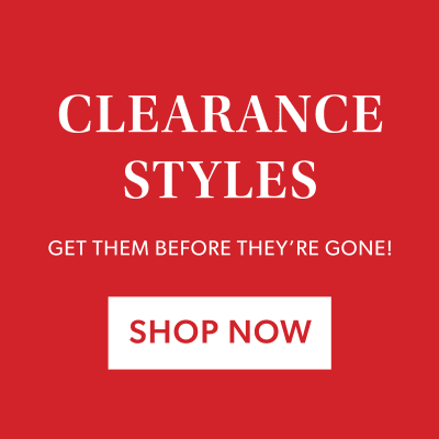 Clearance Style - Getthem before they're gone! Shop now.