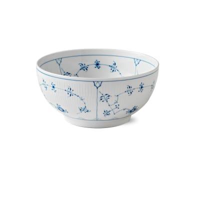 """Royal Copenhagen """"Blue Fluted Plain"""" Porcelain Bowl"""