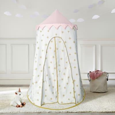Child's Gold Starburst Pop-Up Play Tent