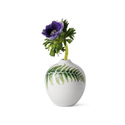 """Royal Copenhagen """"Spring"""" 2020 Fern Porcelain Vase"""