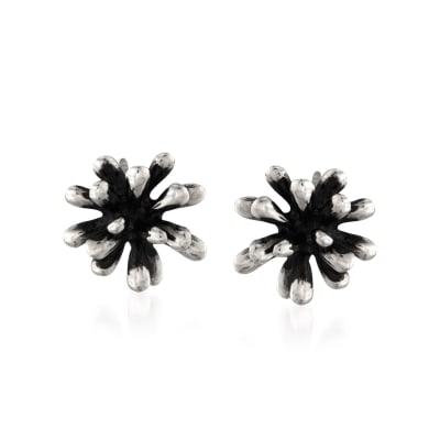 """Zina Sterling Silver """"Fireworks"""" Earrings"""