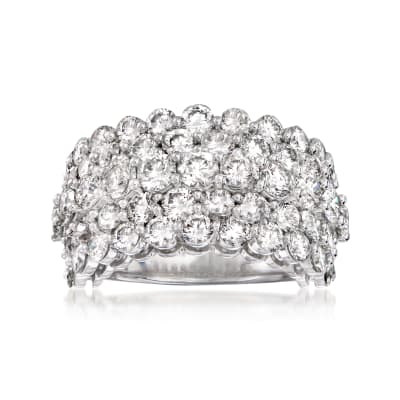 6.00 ct. t.w. Diamond Five-Row Ring