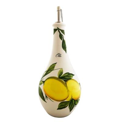 """Abbiamo Tutto """"Lemons"""" Oil Cruet from Italy"""
