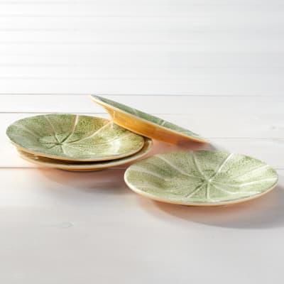 Bordallo Pinheiro Melon - Set of Four Small Plates