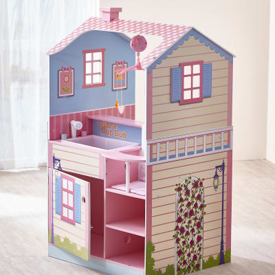 Child's Classic Doll Pink Changing Station Dollhouse