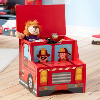 """Child's """"Little Fire Fighters"""" Step Stool"""