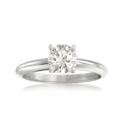 .80 Carat Diamond Solitaire Ring in 14kt White Gold