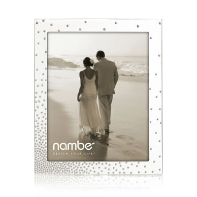 "Nambe ""Dazzle"" Silver Plate Frame"