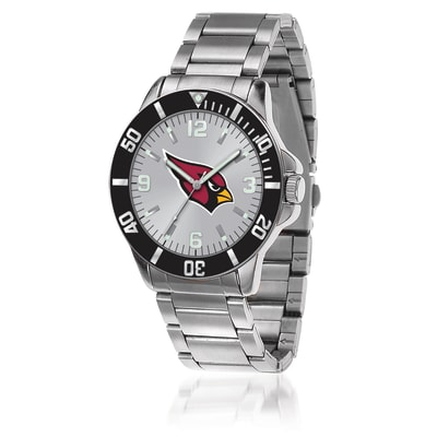 Men's 46mm NFL Arizona Cardinals Stainless Steel Key Watch