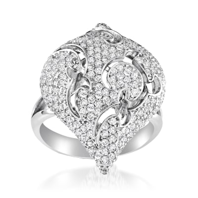 1.60 ct. t.w. Diamond Ring in 18kt White Gold