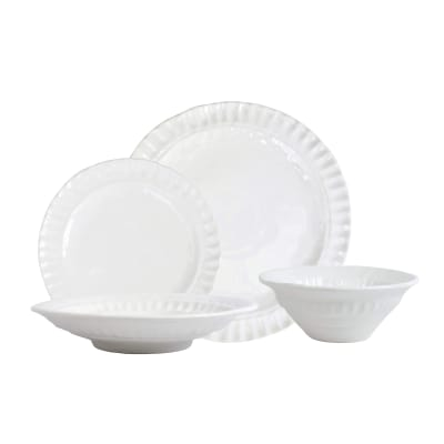 "Vietri ""Pietra Serena"" 4-pc. Place Setting from Italy"