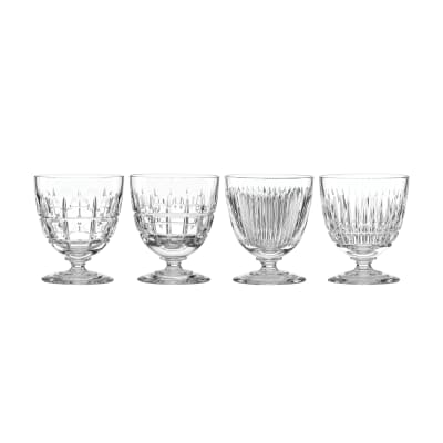"Reed & Barton ""New Vintage"" Set of 4 Cocktail Glasses"