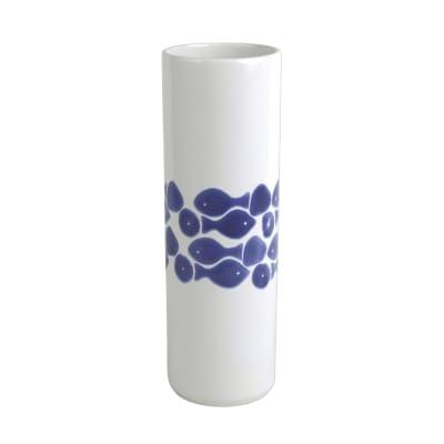 "Vietri ""Santorini"" Tall Fish Vase"