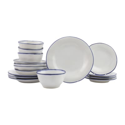 "Vietri ""Aurora Edge"" 16-pc. Dinnerware Set from Italy"