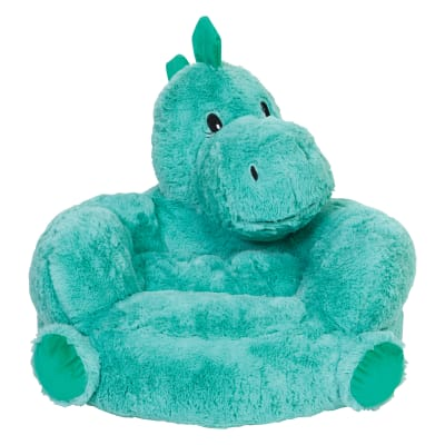 Children's Plush Dinosaur Chair