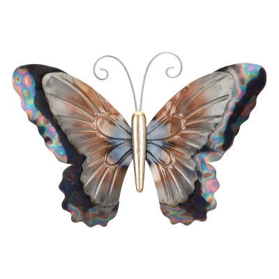 Regal Set of 3 Metallic Butterfly Wall Decor