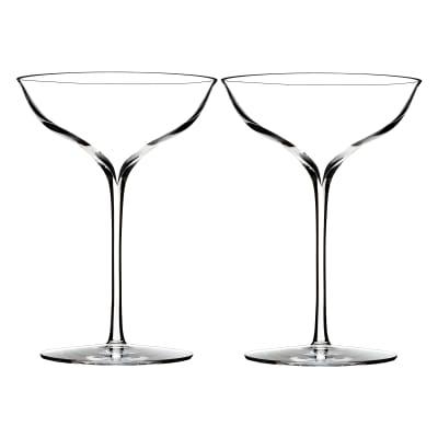 """Waterford """"Elegance"""" Crystal Barware"""