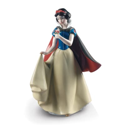 "Lladro ""Snow White"" Porcelain Figurine"