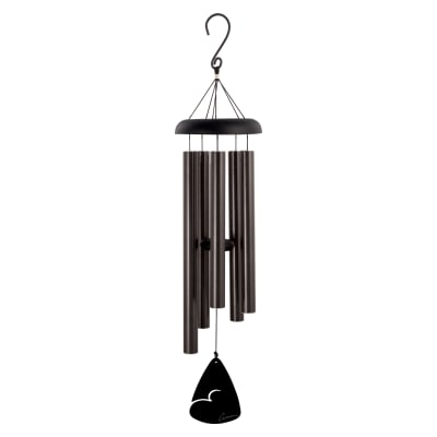 Signature Series Black Fleck Wind Chimes