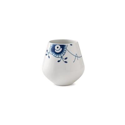 "Royal Copenhagen ""Blue Fluted Mega"" Small Porcelain Vase"