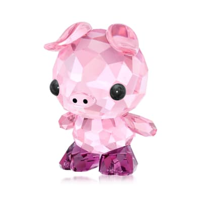 "Swarovski Crystal ""Determined Pig - Chinese Zodiac"" Crystal Figurine"