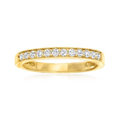 .25 ct. t.w. Diamond Ring in 14kt Yellow Gold