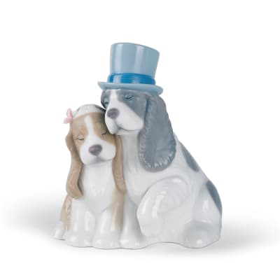"Nao ""Together Forever"" Porcelain Figurine"