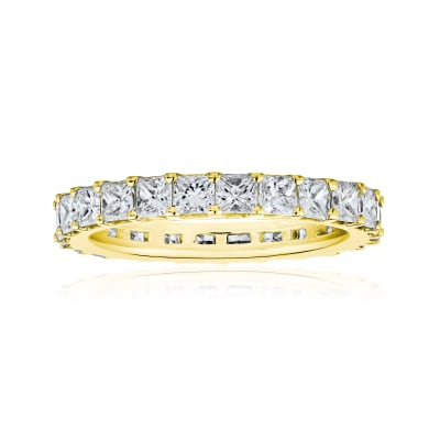 1.90 ct. t.w. Princess-Cut Diamond Eternity Band in 14kt Yellow Gold