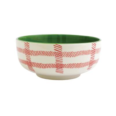 "Vietri ""Misteltoe"" Large Footed Serving Bowl"
