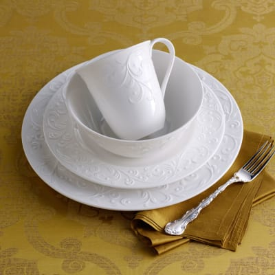 "Lenox ""Opal Innocence""  Carved Dinnerware"