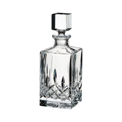 "Waterford Crystal ""Lismore"" Square Decanter"