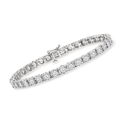 5.00 ct. t.w. Diamond Tennis Bracelet in Sterling Silver