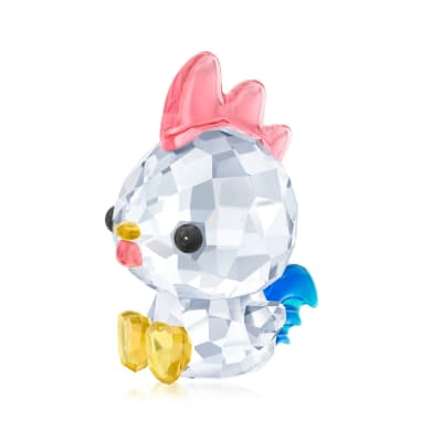"Swarovski Crystal ""Decisive Rooster - Chinese Zodiac"" Crystal Figurine"