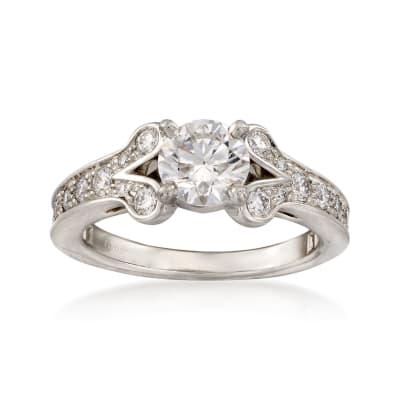 C. 2015 Cartier 1.05 ct. t.w. Certified Diamond Ring in Platinum