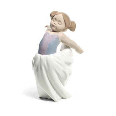 "Nao ""About to Go on Stage"" Porcelain Figurine"
