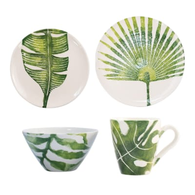 "Vietri ""Into the Jungle"" Dinnerware from Italy"