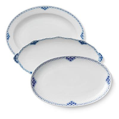 "Royal Copenhagen ""Princess"" Oval Platter"