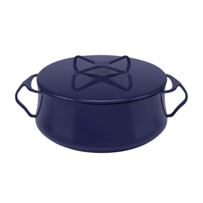 "Dansk ""Kobenstyle"" Midnight Blue Casserole Pot with Lid"