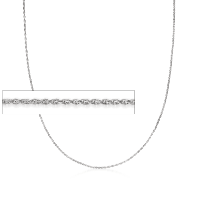 Sterling Sterling Rope Chain Necklace