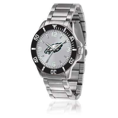 Men's 46mm NFL Philadelphia Eagles Stainless Steel Key Watch
