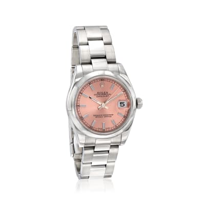 Pre-Owned Rolex Datejust Women's 31mm Automatic Stainless Steel Watch