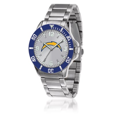 Men's 46mm NFL Los Angeles Chargers Stainless Steel Key Watch