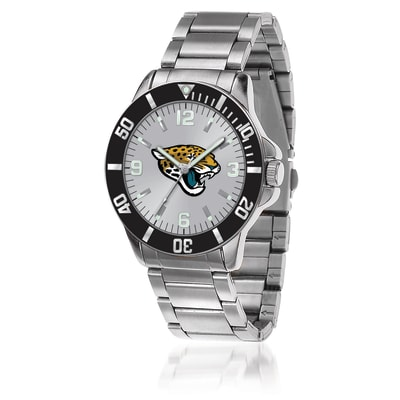 Men's 46mm NFL Jacksonville Jaguars Stainless Steel Key Watch